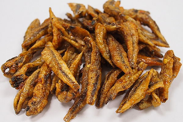 002 2 fried anchovy without sesame